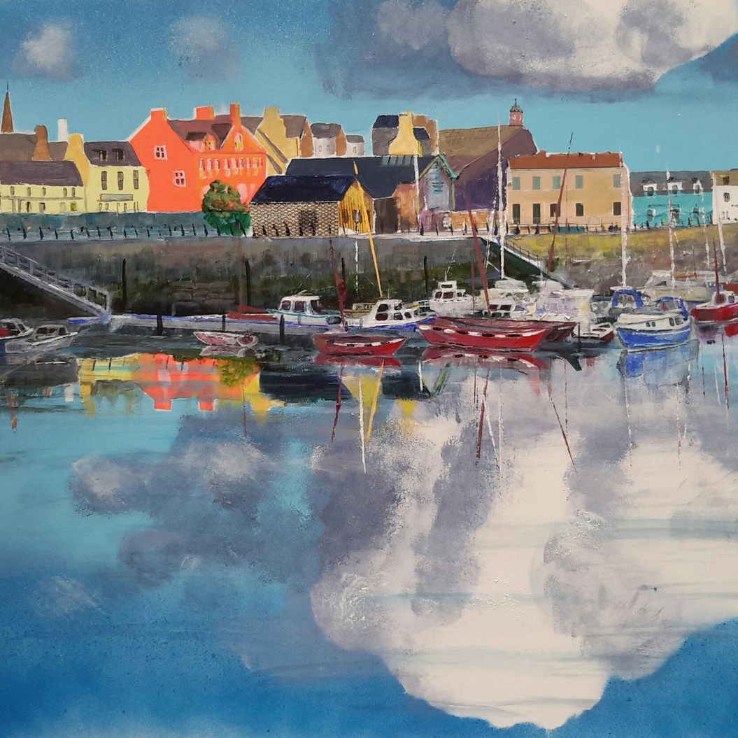 Debbie Cassels: Stornoway Clouds