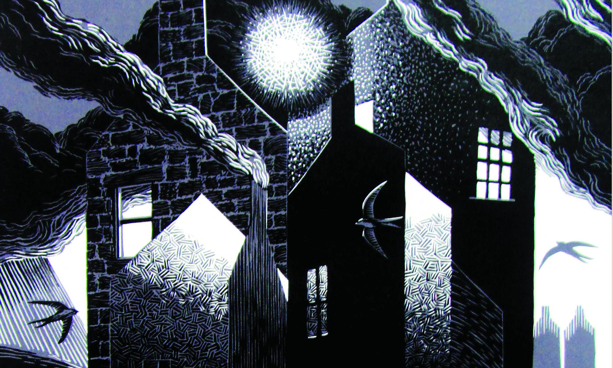 Dundas Street Gallery, Bryan Angus, Carved Light