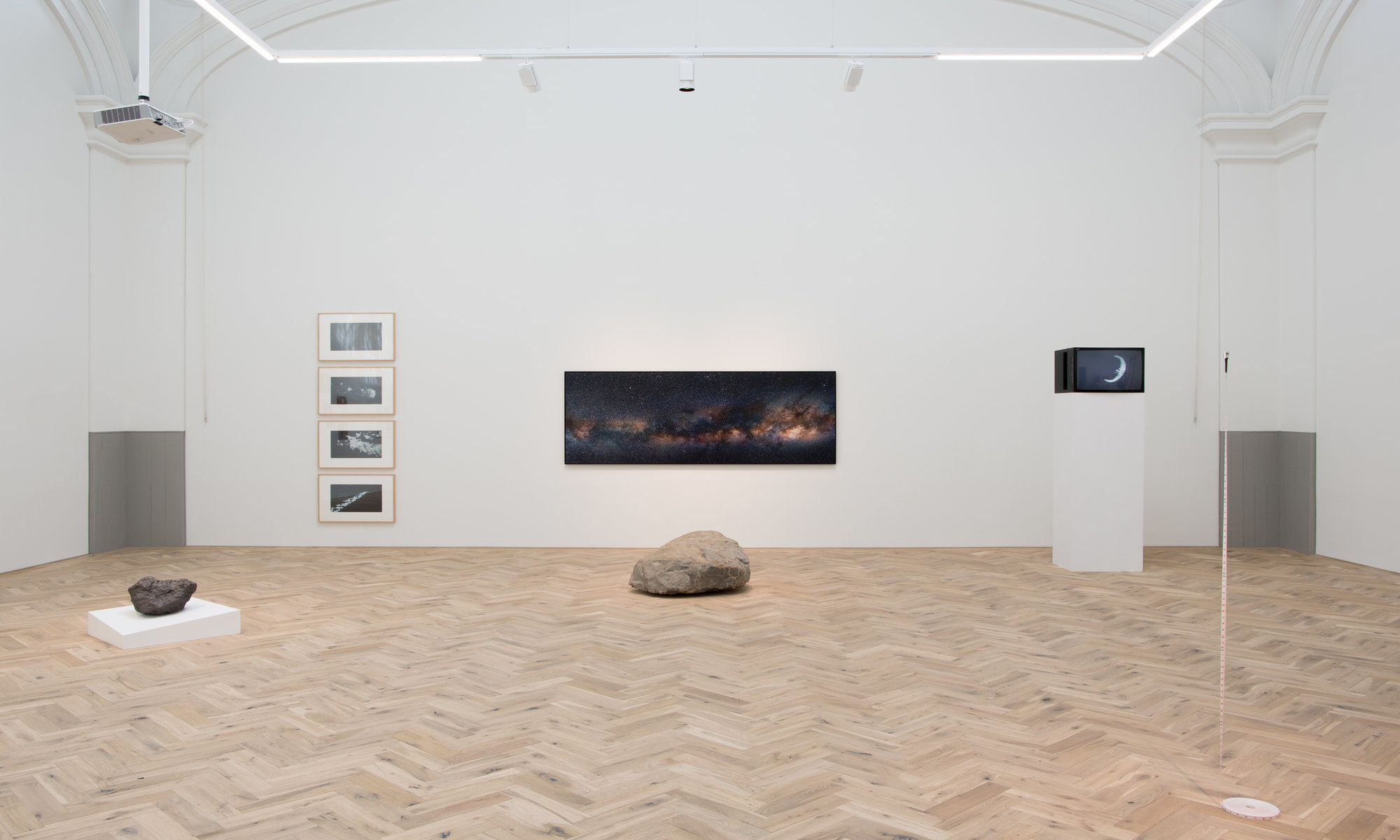 Installation view of Jacob's Ladder. Ingleby, Edinburgh, 26 July – 20 October, 2018. Photograph: Tom Nolan. Image courtesy the Artists and Ingleby, Edinburgh.