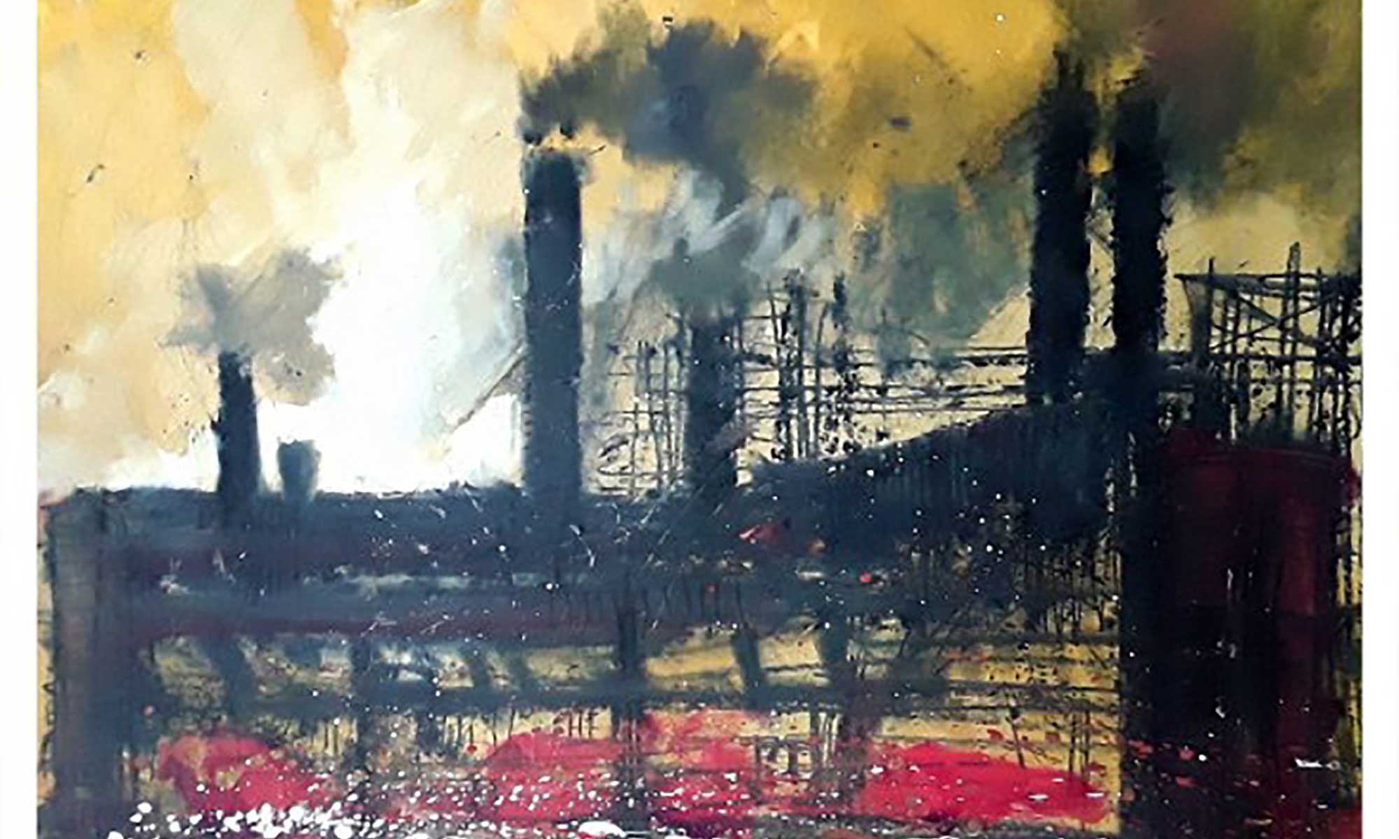 Art & Craft Collective: Ian Pearsall: Fire and Light