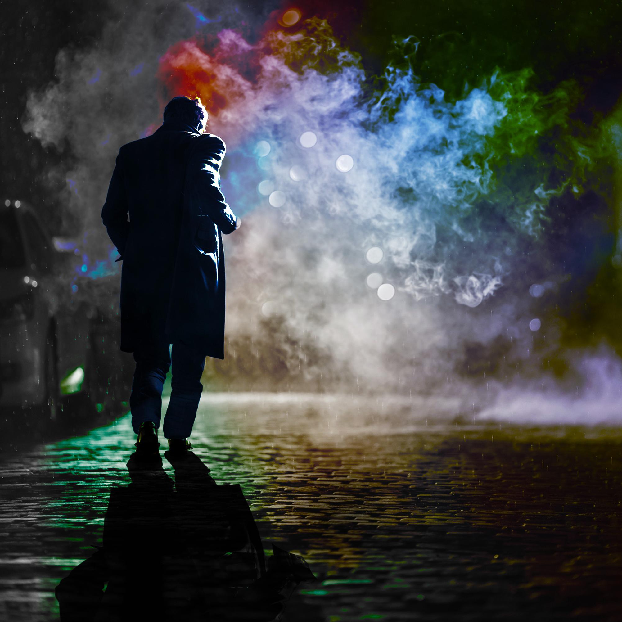 long shadows: Kings Theatre