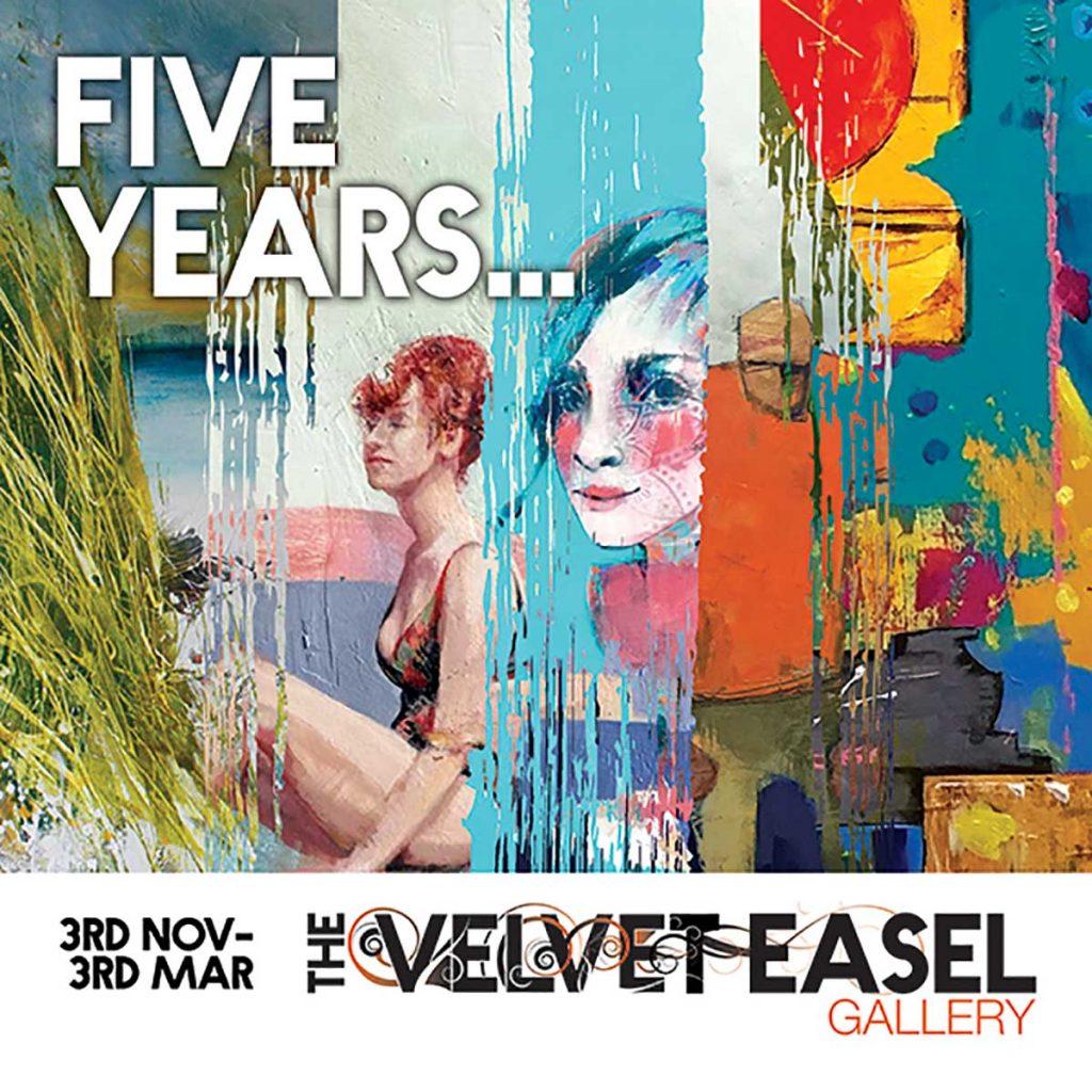 The Velvet Easel Gallery: Five Years