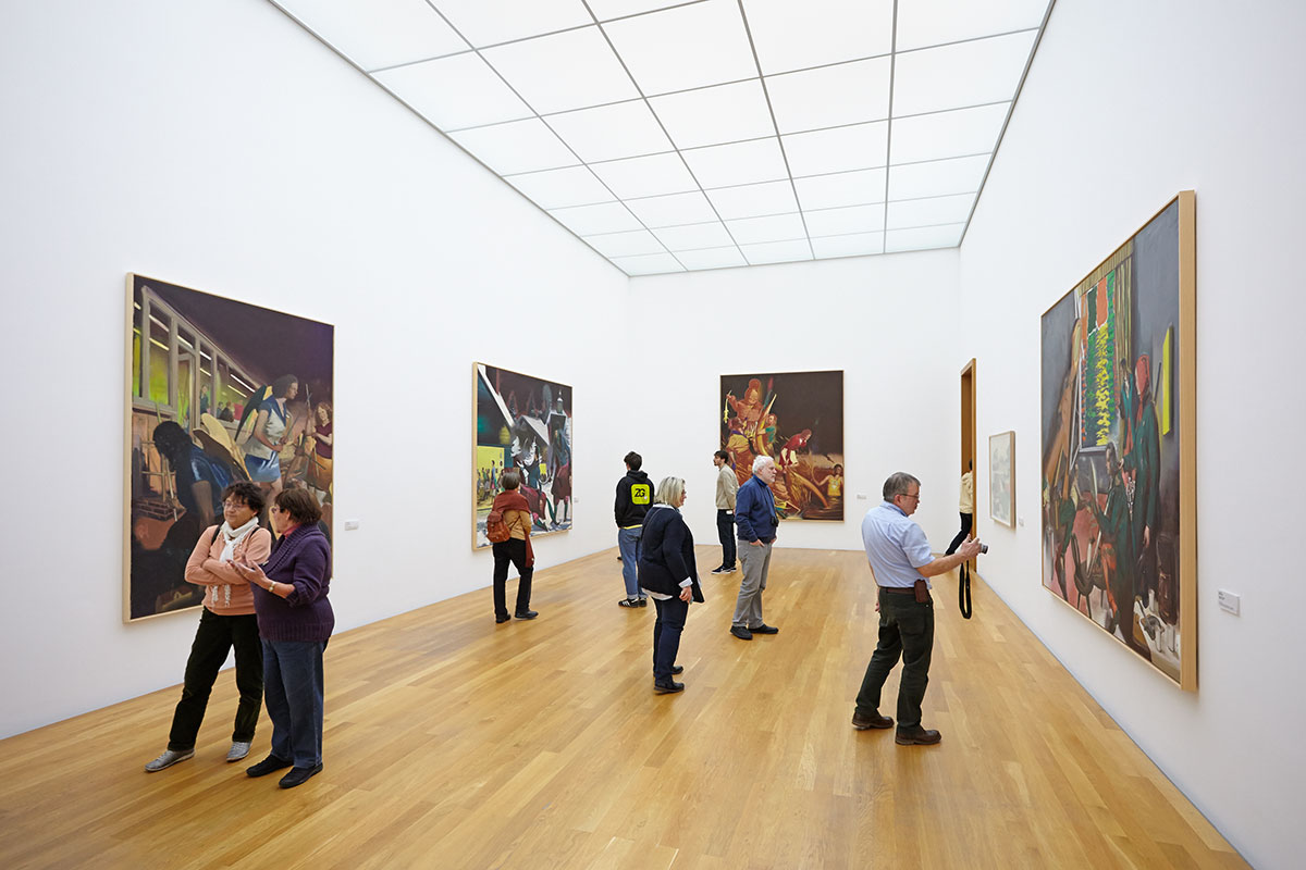 The Neo Rauch Room in the Museum of Fine Arts, Photo: A. Schmidt/Punctum