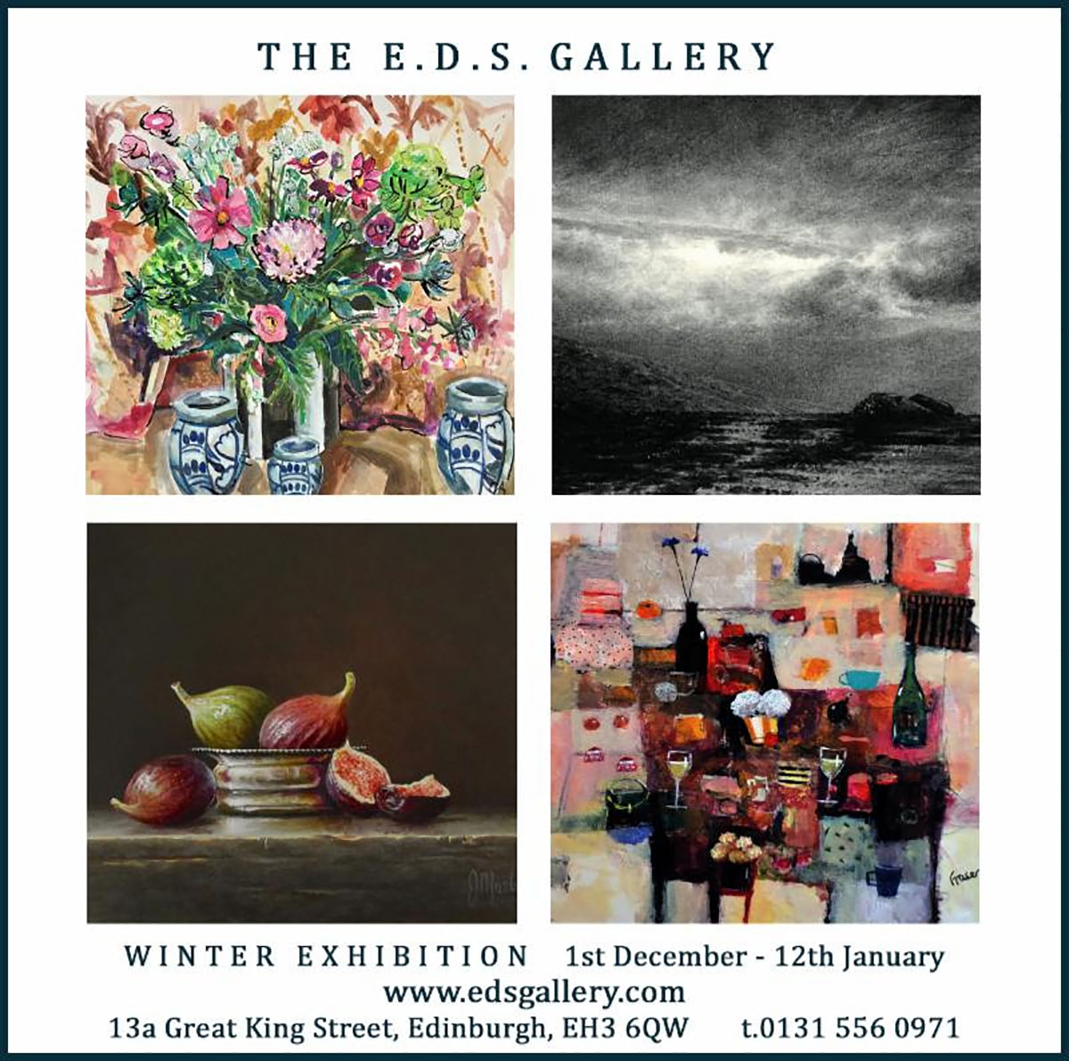 E.D.S. Gallery: Winter Exhibition