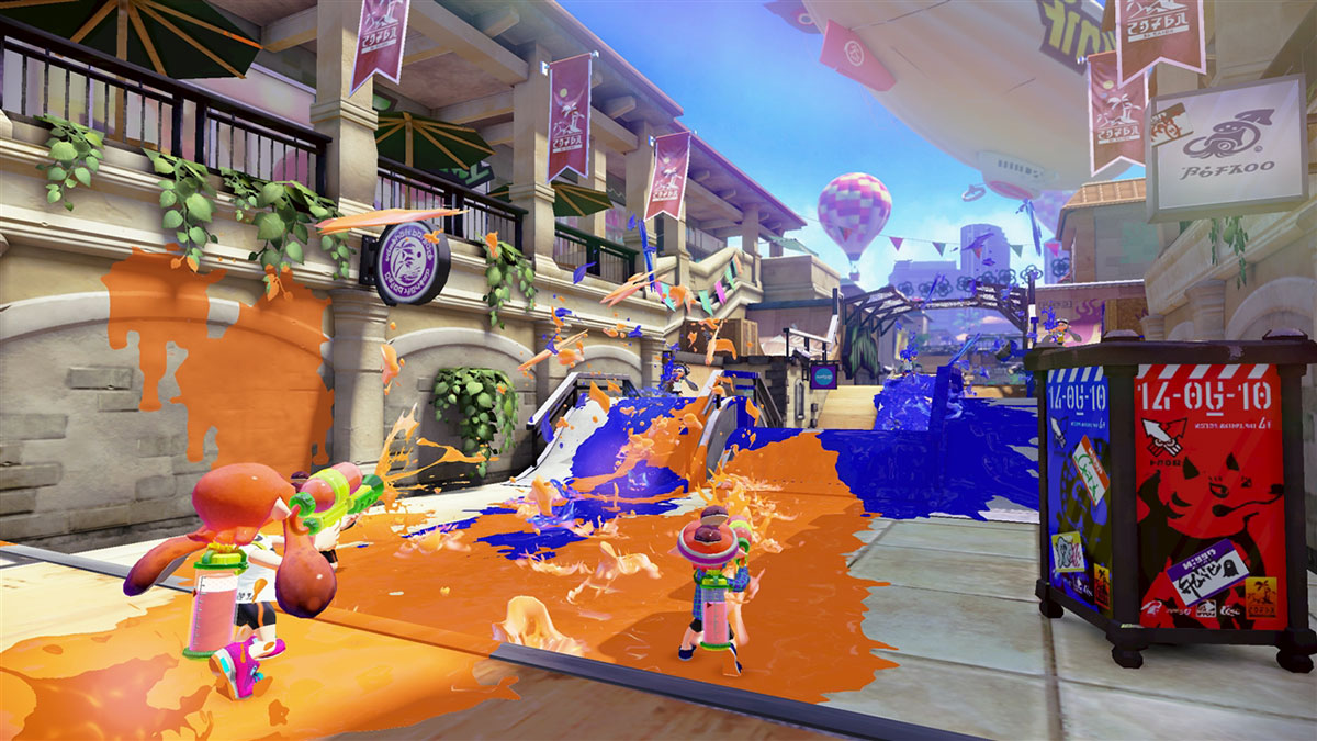 Splatoon © 2015 Nintendo. Videogames: Design/Play/Disrupt, at the V&A from 8 September 2018 – 24 February 2019 vam.ac.uk/videogames