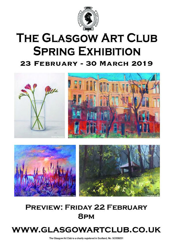 The Glasgow Art Club: Spring Exhibition 2019