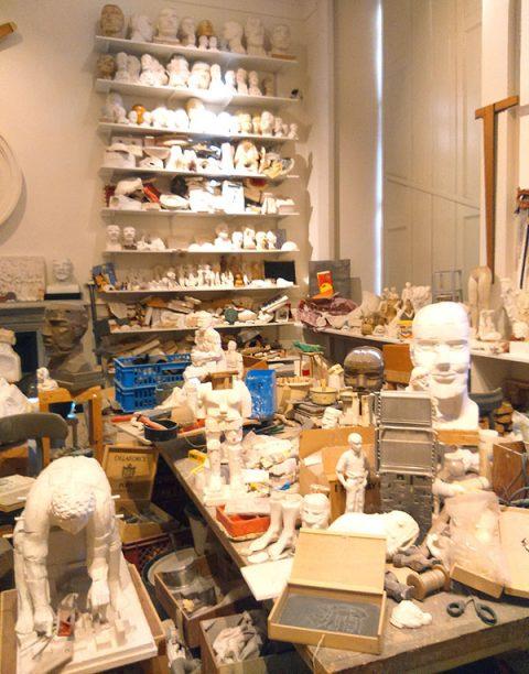 Reconstruction of Paolozzi's Studio