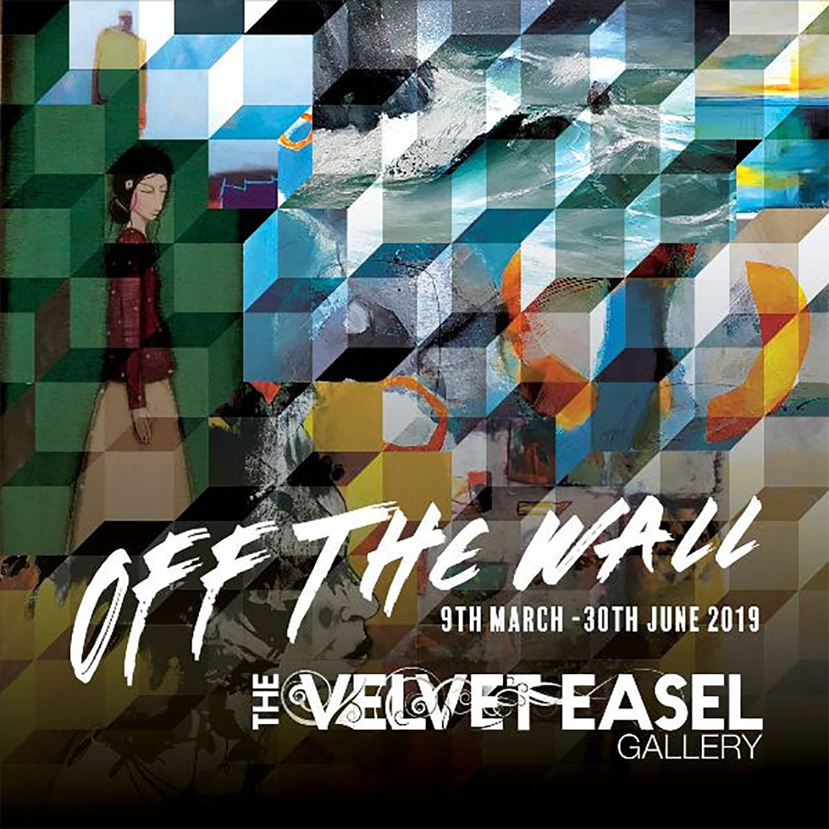 The Velvet Easel Gallery: Off the Wall