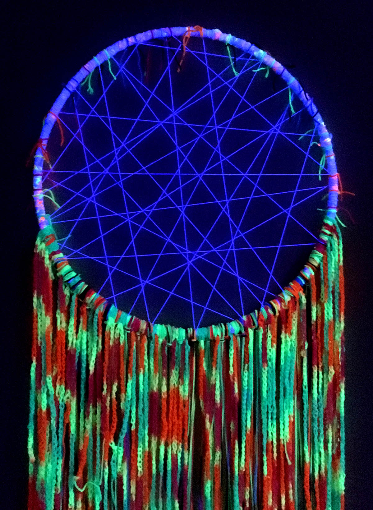 Wall-hanging dreamcatcher