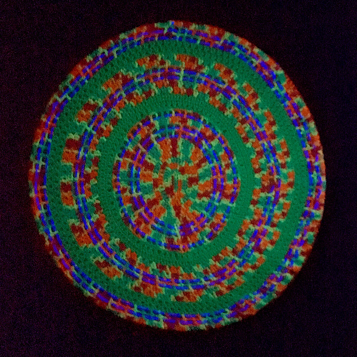 Wall-hung Mandala