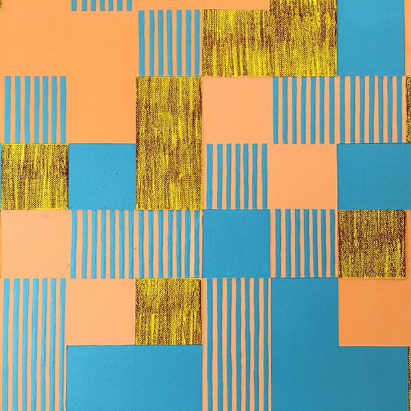 Detail of 800 2019, Annalisa Merrilees, mixed media on canvas