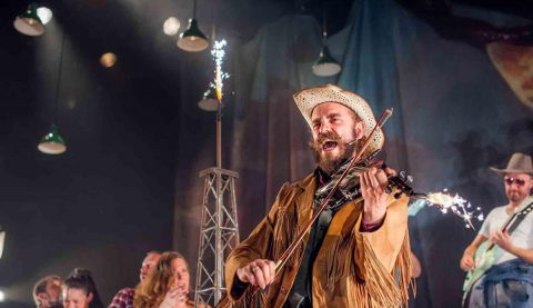 National Theatre of Scotland: The Cheviot, The Stag, and The Black, Black Oil