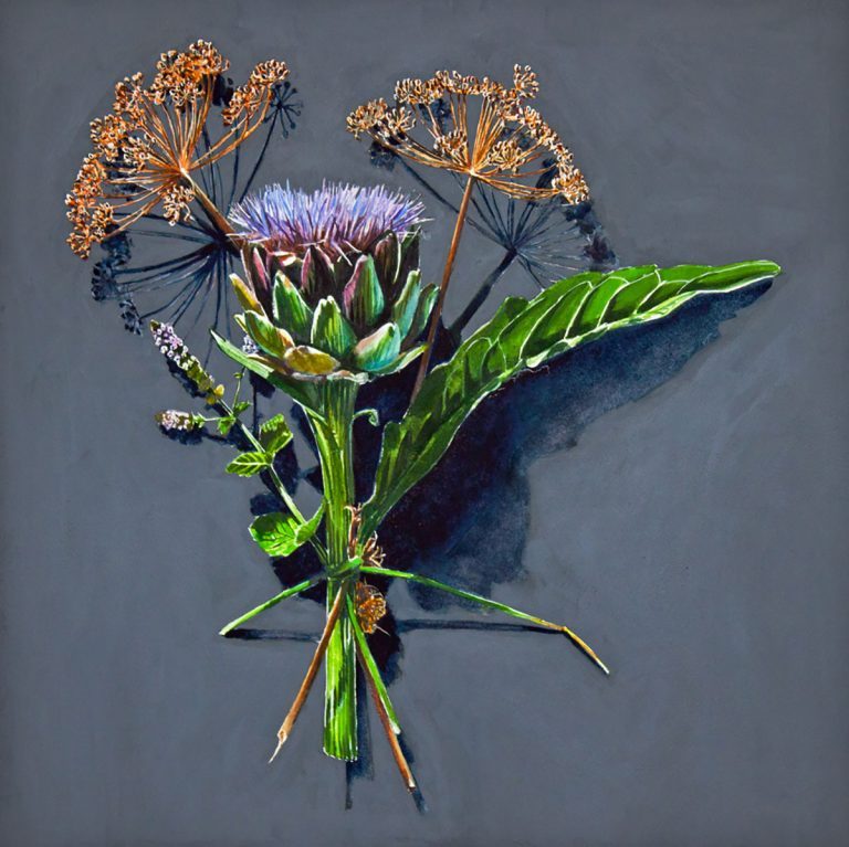 Kirsty Lorenz, 'Votive Offerings No. 100, Artichoke and Dill', c/o Resipole Studios