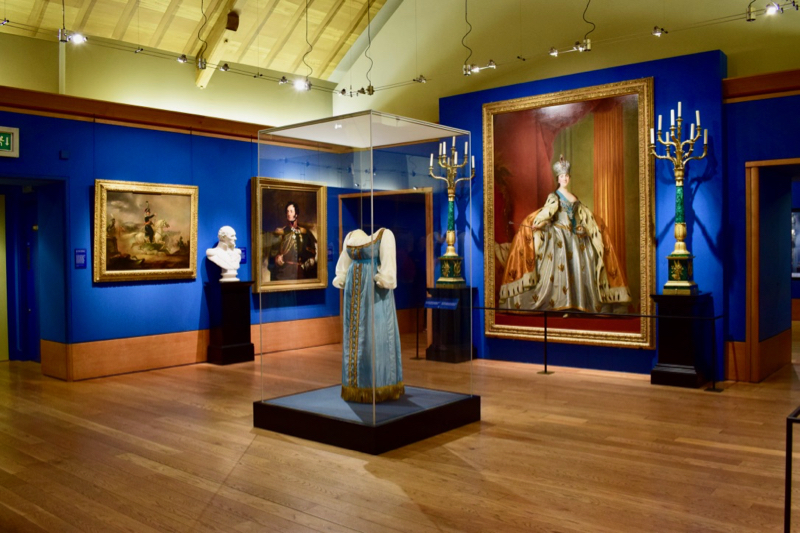 Russia, Royalty and the Romanovs exhibition at The Queen's Gallery, Palace of Holyrood House, Edinburgh