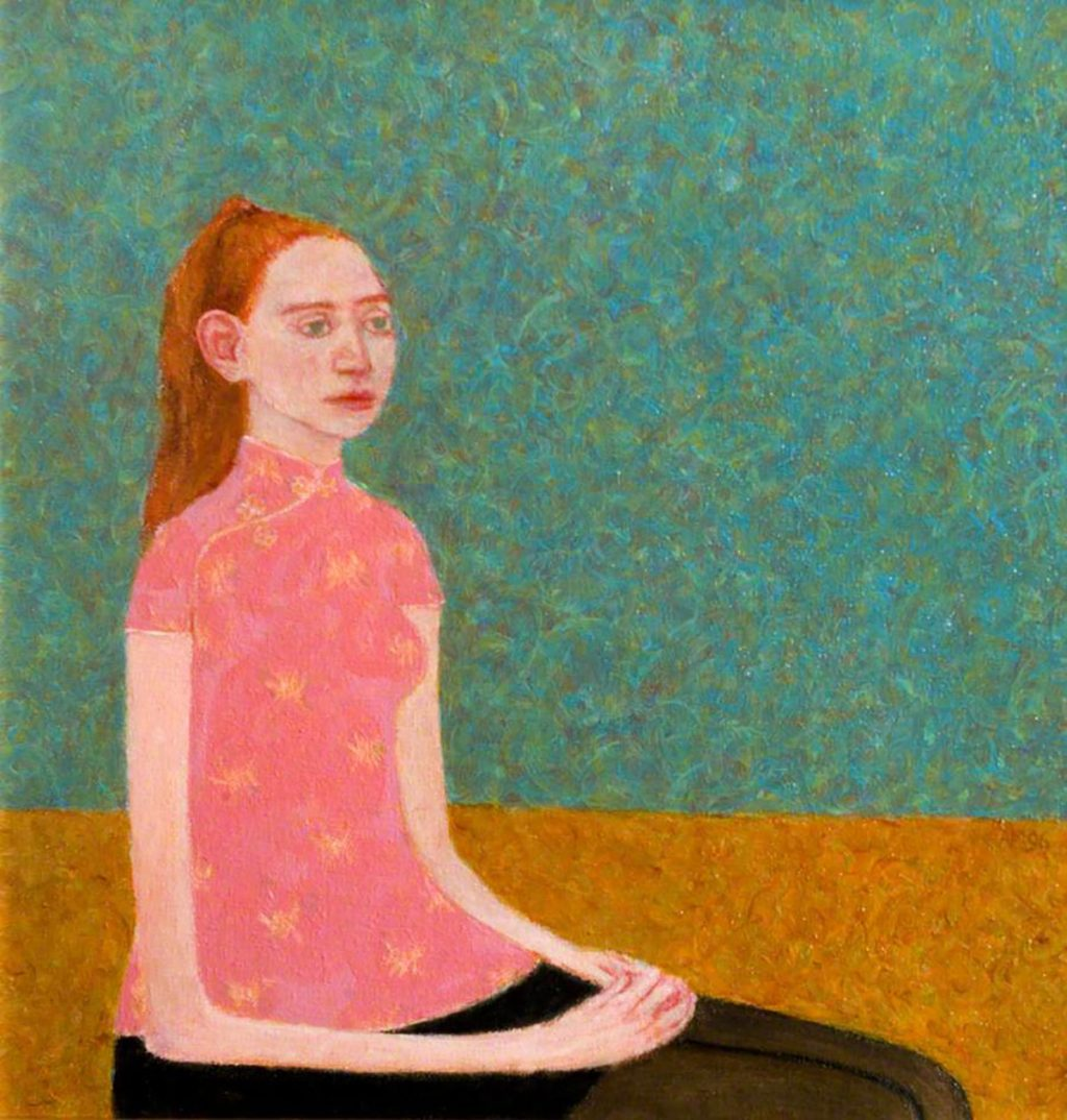 Abigail McLellan (1969–2009), Woman Sitting © the artist's estate. Photo credit: Dumfries and Galloway Council (Gracefield)