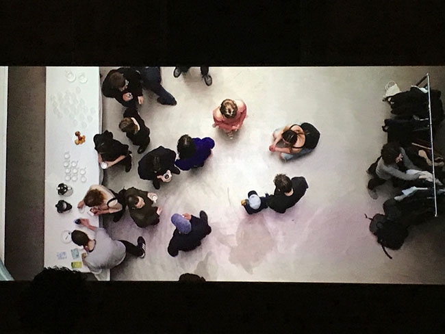 view of Workers!, Petra Bauer and SCOT-PEP, film installation