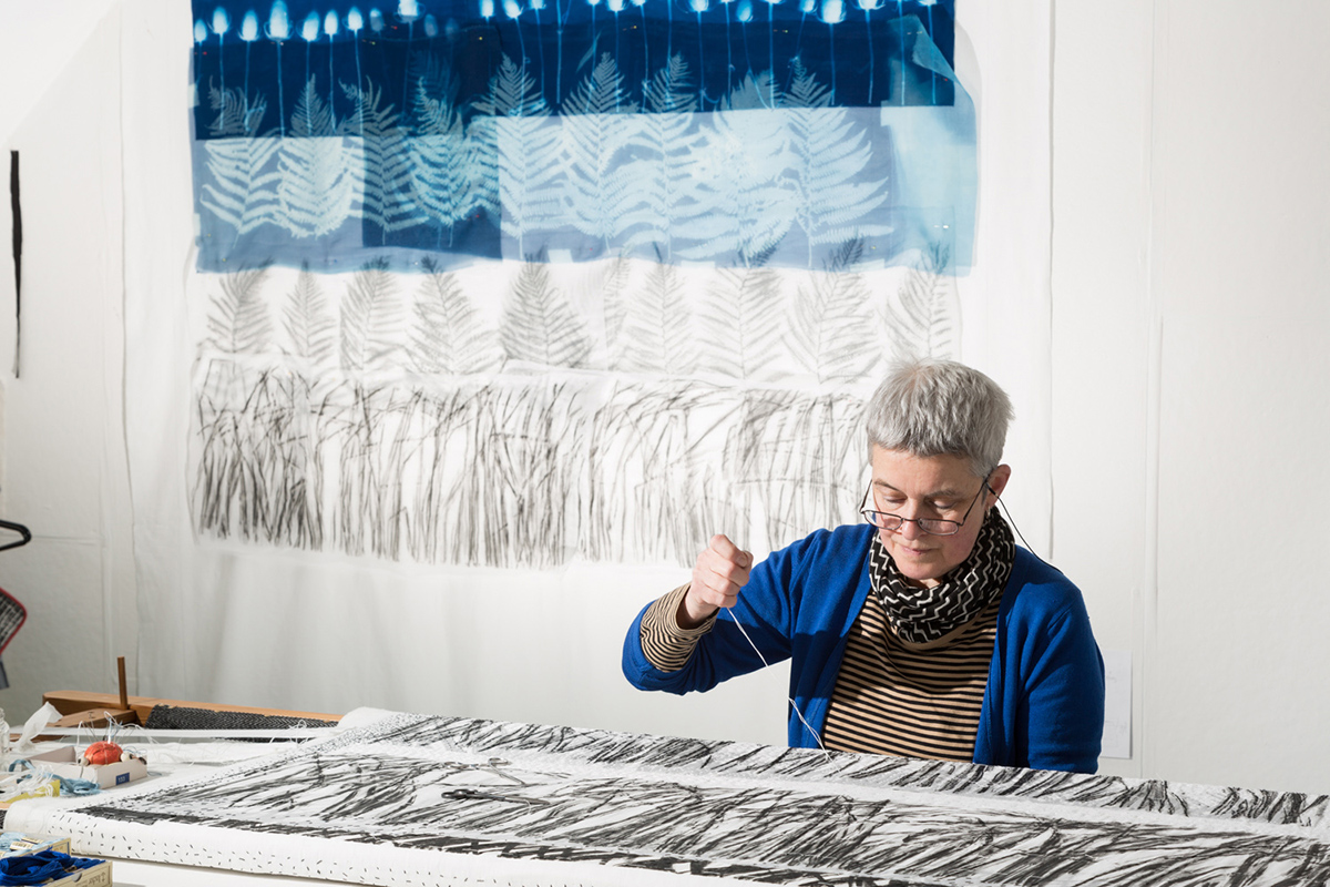 Pauline Stitching, 2015. Photo Phil Dickson