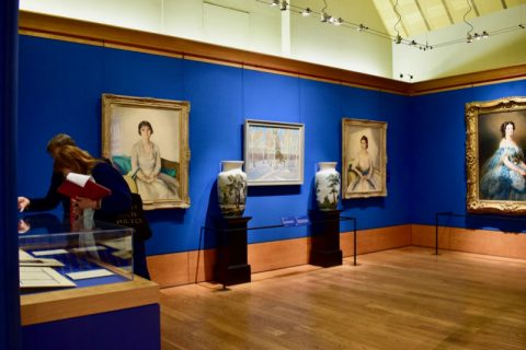 view of Russia, Royalty and the Romanovs exhibition, The Queen's Gallery, Edinburgh