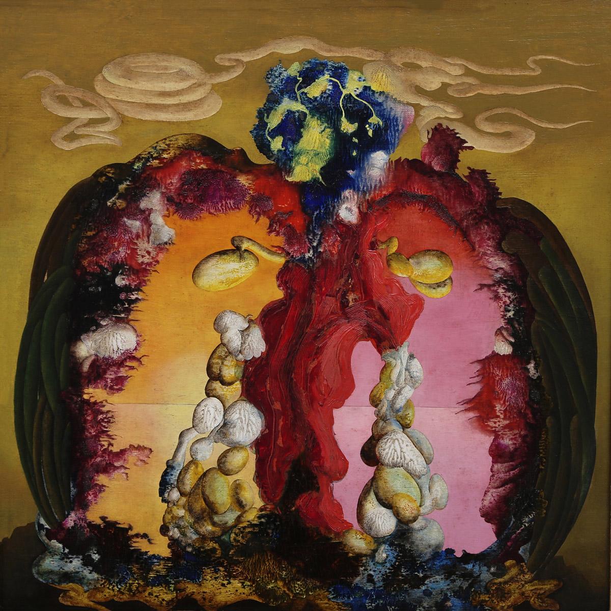 Ithell Colquhoun: Gorgon, Oil on Board (1946)