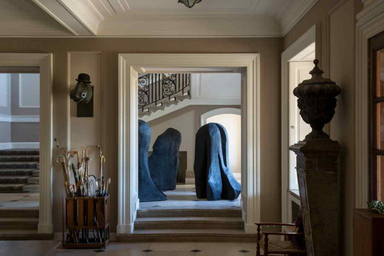 David Nash, Conversations in Wood, Marchmont House