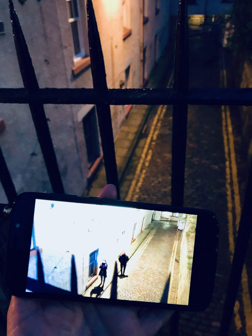 ExcerptCardiff and Miller, Night Walk for Edinburgh video walk