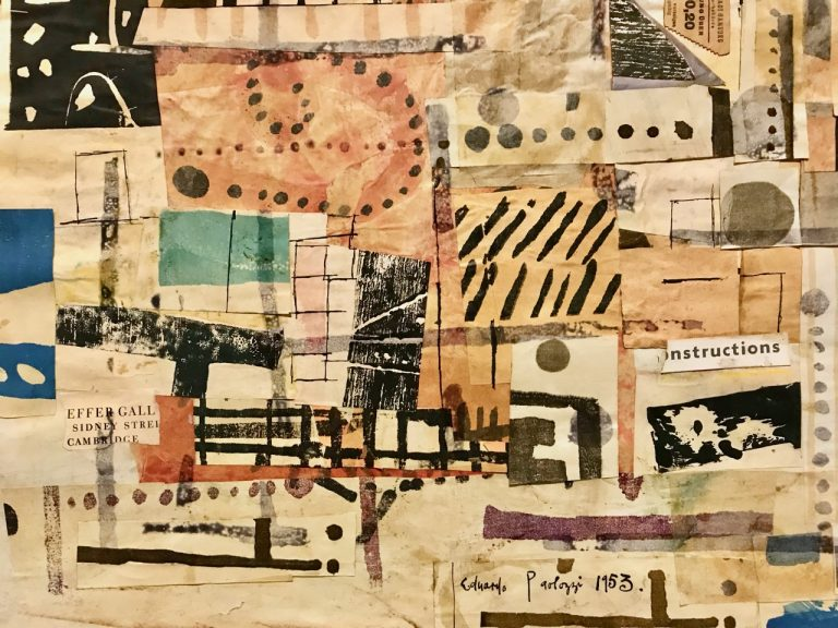 Eduardo Paolozzi 1924-2005, Collage (1953), mixed media collage on paper