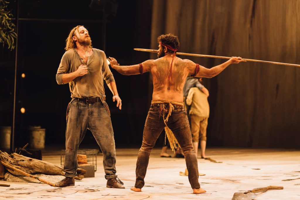 The Secret River at Edinburgh International Festival_Nathaniel Dean and Shaka Cook_Photo by Ryan Buchanan