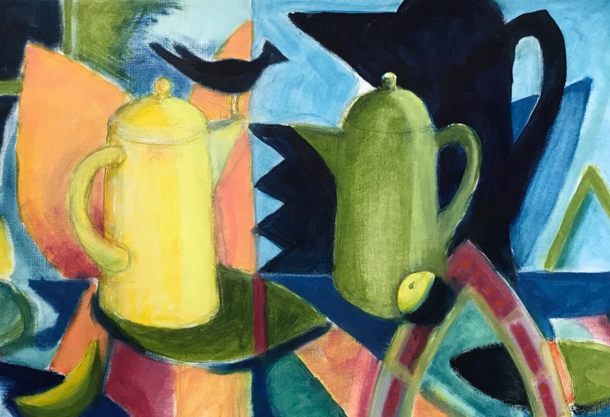 Robert Moodie: Two Pots and a Bird