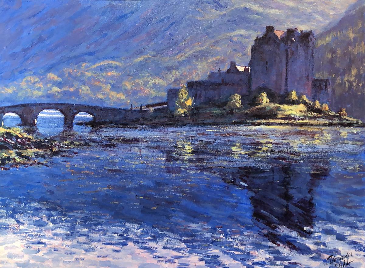 Alexander Millar - Eilean-Donan Castle