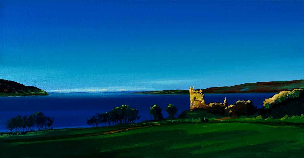 Nicole Wheatley: Urquhart Castle, Airchartdan, Loch Ness