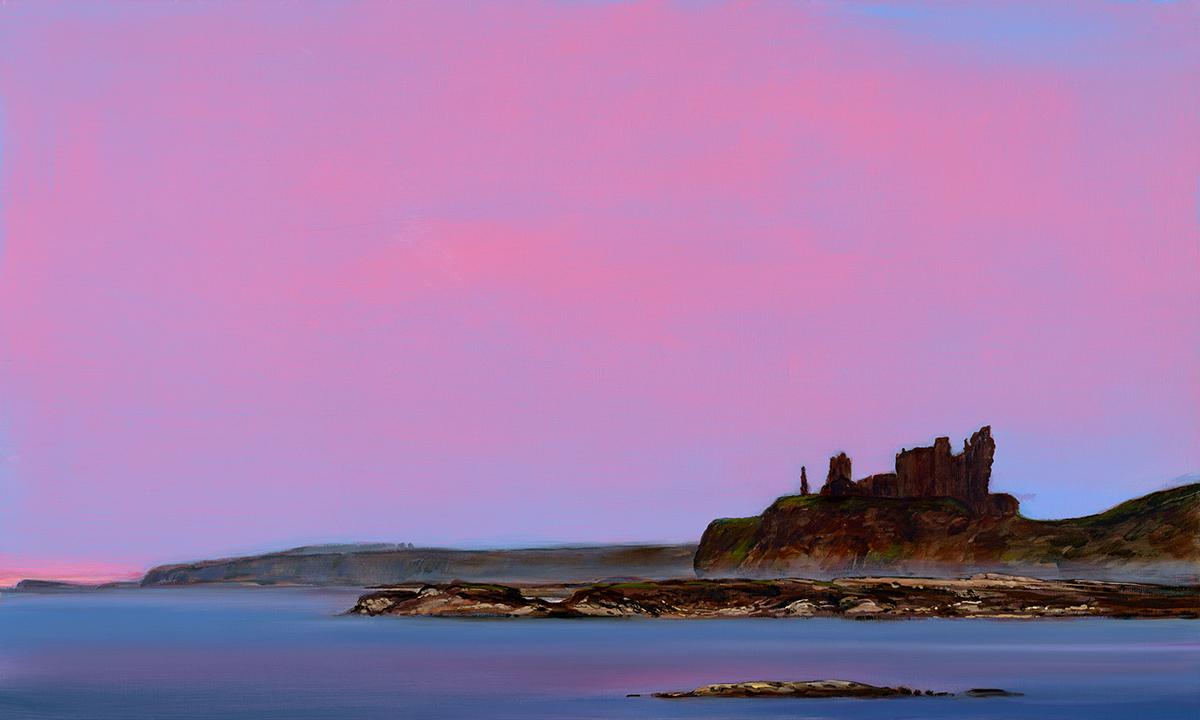 Nicole Wheatley: Tantallon Castle, North Berwick, East Lothian