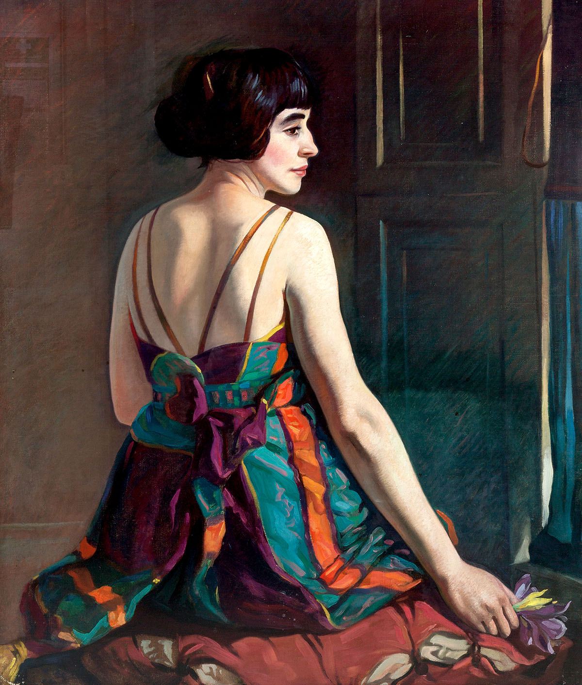 Eric Robertson: 'Cecile', 1922. Image © Aberdeen City Council (Art Gallery & Museums Collections).