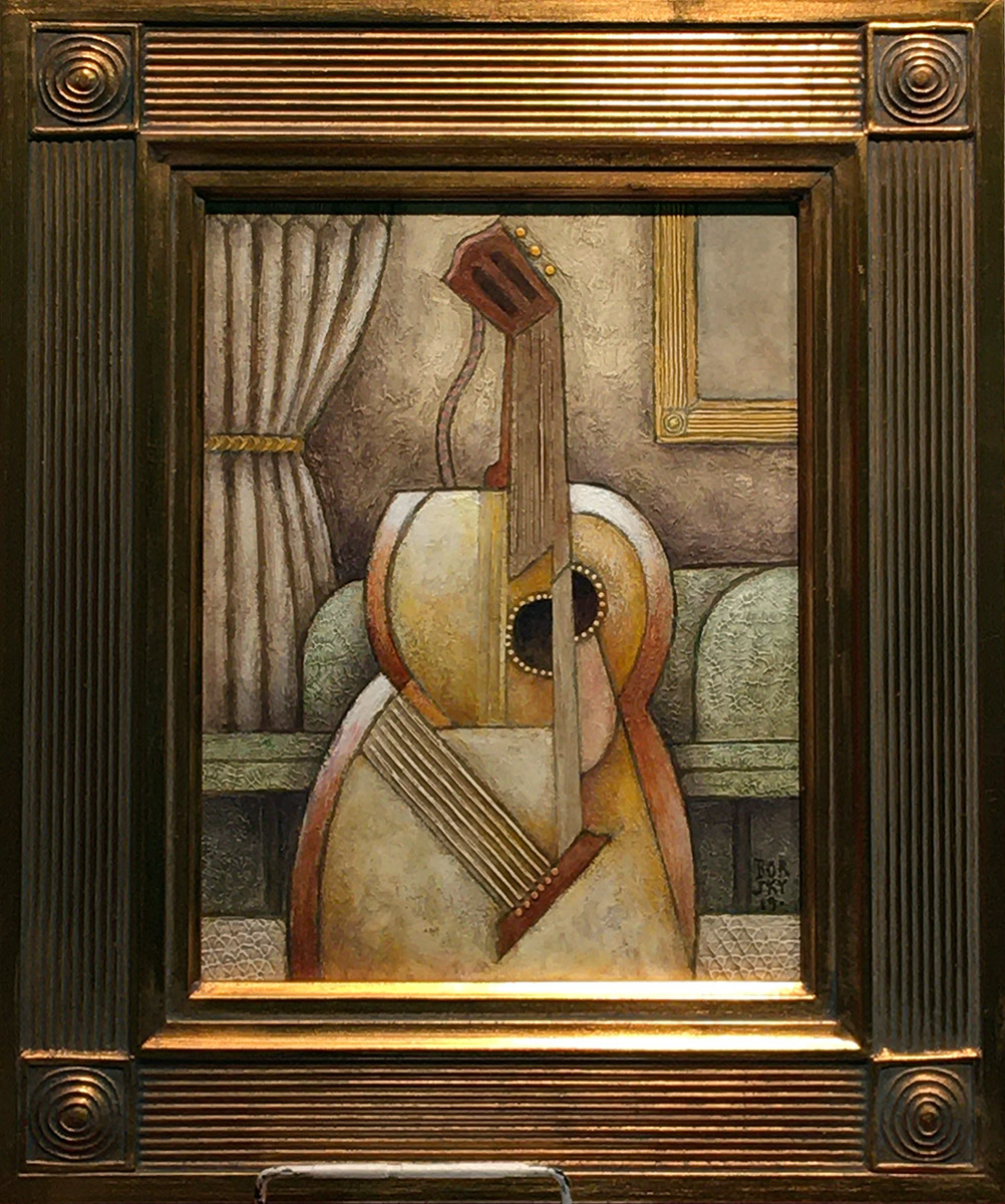 Jiri Borsky - Guitar with Classical Frame