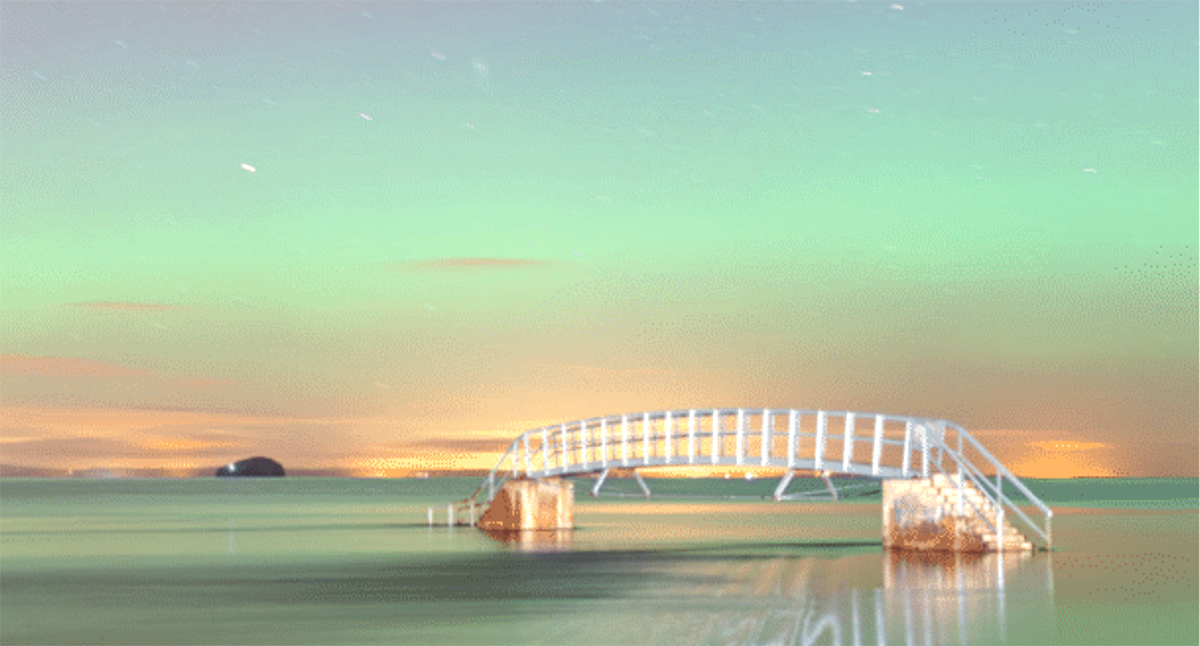 John Lawson - Bridge to Nowhere Aurora Belhaven