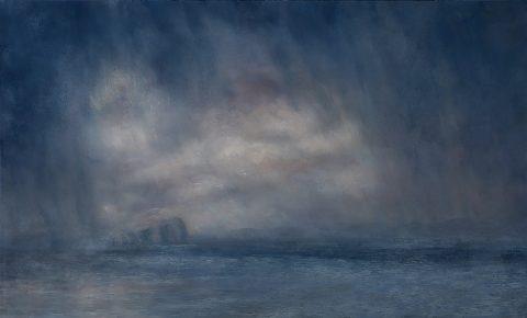 Matthew Draper - Downpour, Pastel on paper, 2019