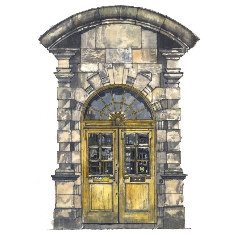 Will Knight - Summerhall Front Door