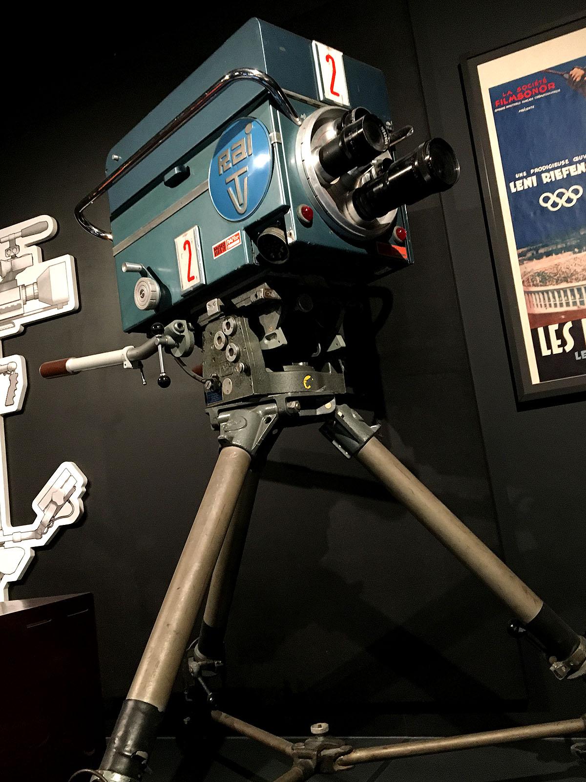RAI (Italian) Tv camera