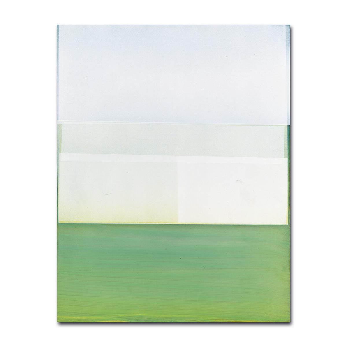 Jeffrey Cortland Jones: Seawaves (Dubfiles), enamel on acrylic panel