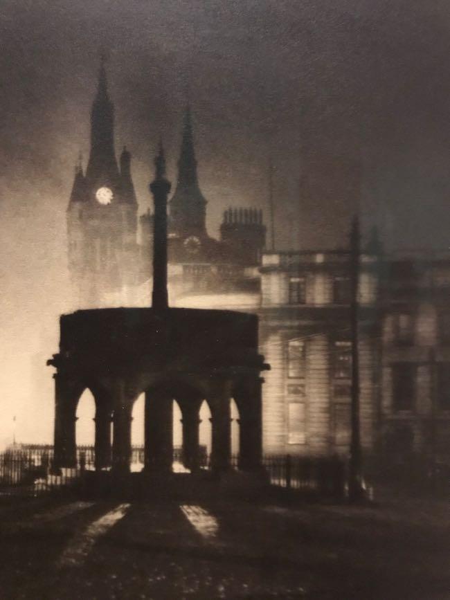 Linton M Gibb, The Mercat Cross, Aberdeen, c1920s, silver gelatin print