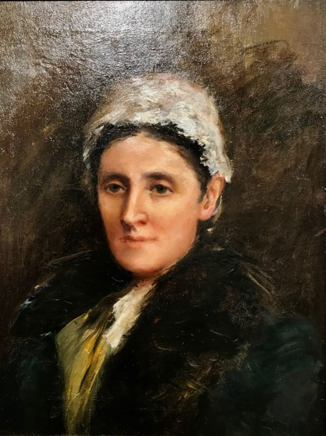 Mary Cameron Portrait of Mary Brown Small Cameron, unknown date, oil on canvas