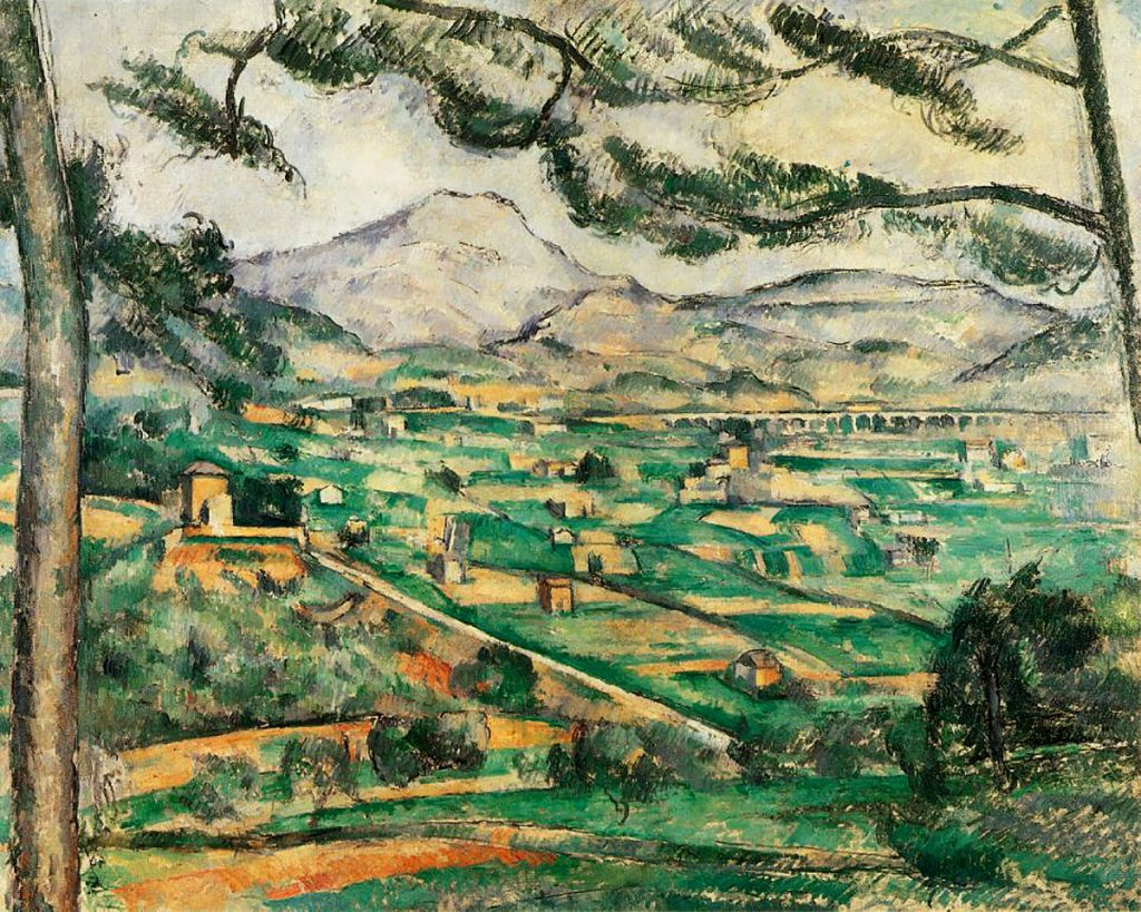 Paul Cezanne, 'The Saint Victoire mountain with large pine', 1886-87 (The Phillips Collection, Washington DC)