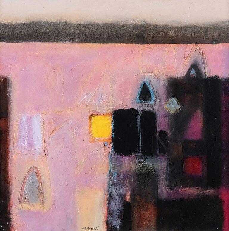 Charles MacQueen, Evening Marrakesh, watercolour
