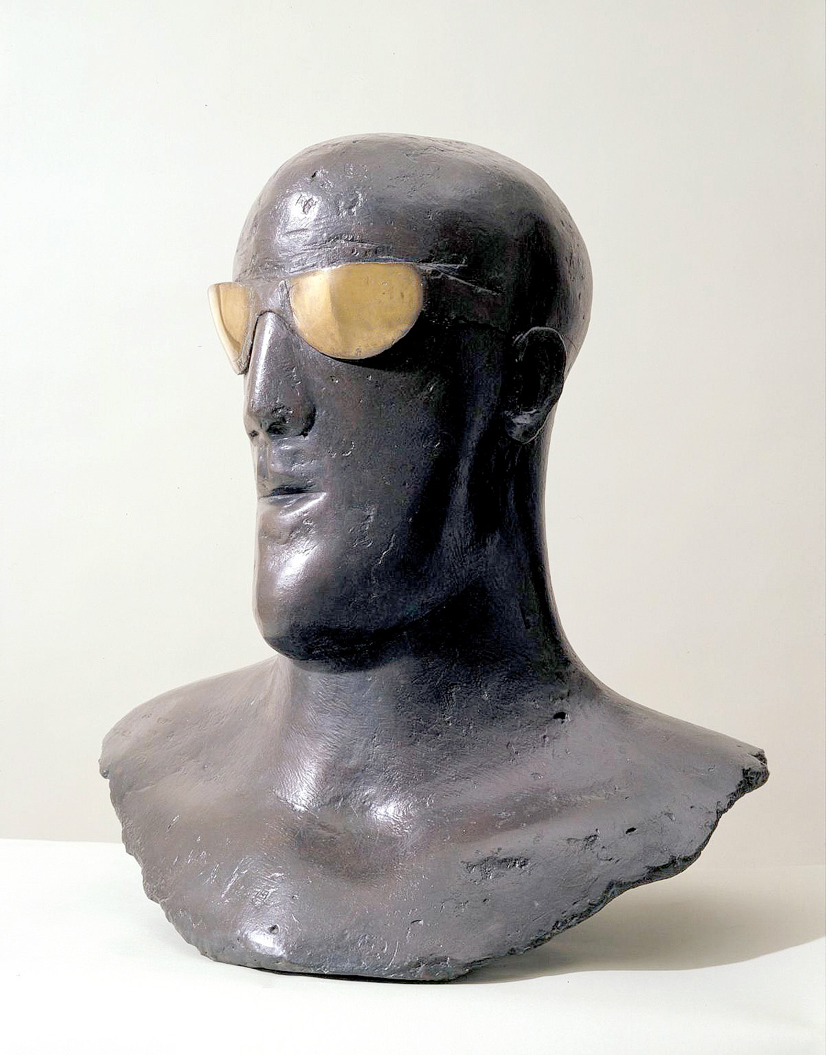 Goggle Head 1969 Dame Elisabeth Frink 1930-1993 Purchased 1998 https://www.tate.org.uk/art/work/T07396