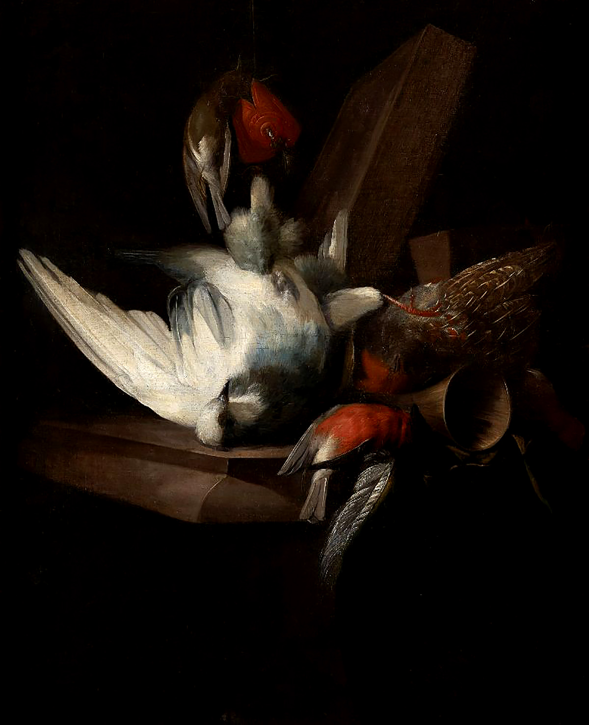 William Gouw Ferguson - Still Life with Game Birds, oil on canvas