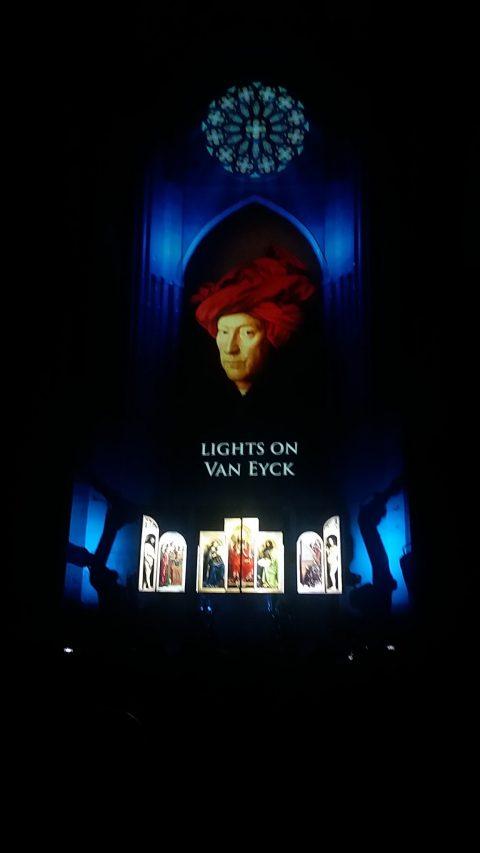 OMG! Van Eyck Was Here will featurea multi-media spectacle.
