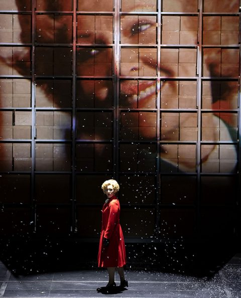 Julia Sporsen (Pat Nixon) in Nixon in China. Scottish Opera 2020. Credit James Glossop (Cropped)