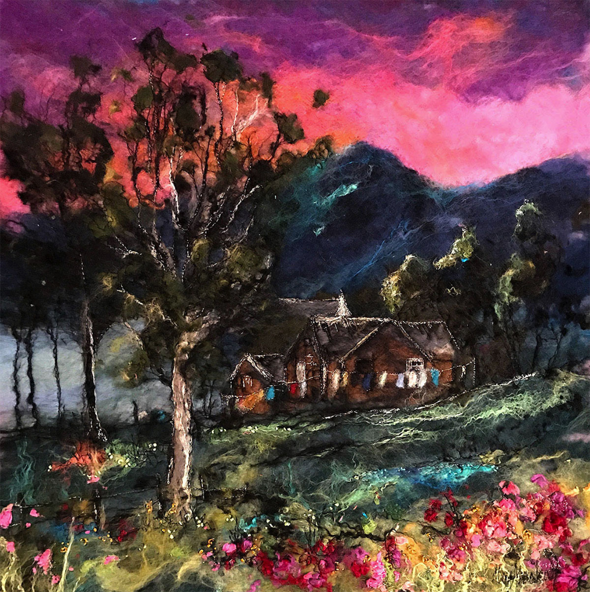 Moy Mackay - The Old Schoolhouse, Traquair
