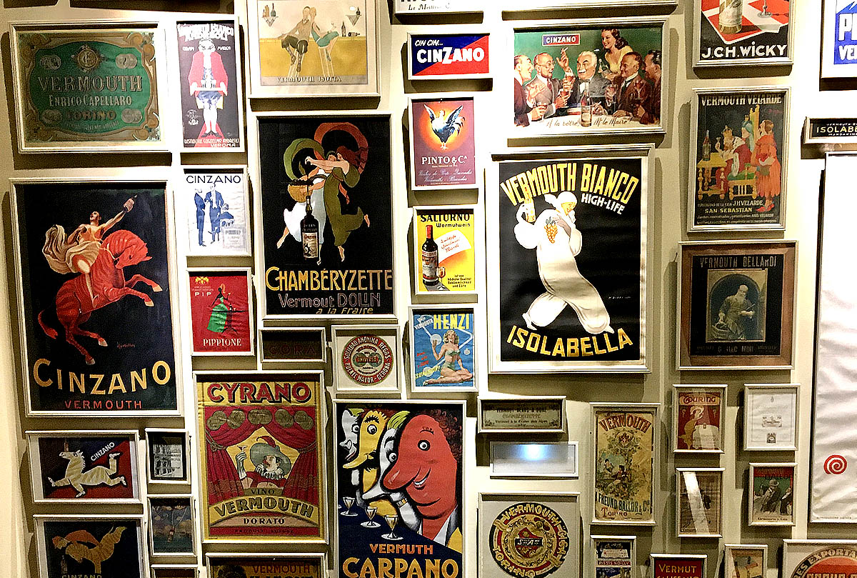 A golden age of Vermouth and poster-design, Museo del Vermut