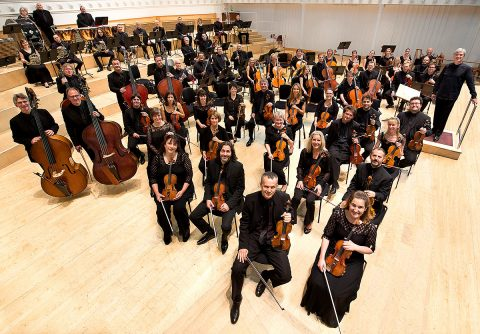 BBC SSO Players Group with Thomas Dausgaard