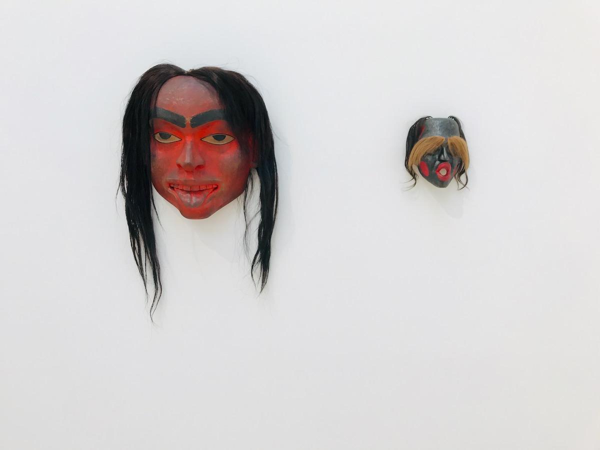 Beau Dick Otter Woman and Tsonoqua